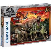 Clementoni Puzzle Jurassic World 250teilig