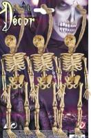 Skelett an Schnur