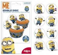 Minions Cupcakes-Aufleger