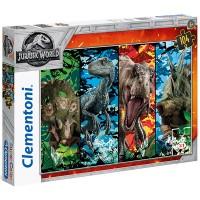 Clementoni Puzzle Jurassic World 104 teilig