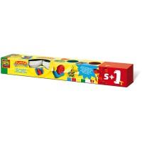 SES Knete 5 + 1 Farbe