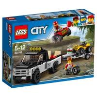 LEGO CITY Quad Rennteam
