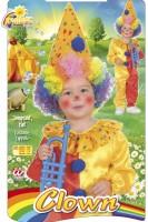 Kostüm Clown Jumpsuit 98cm-104cm