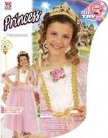 Prinzessinkostüm mit Tiara 128/140