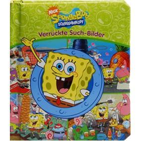SpongeBob Buch verrückte Such-Bilder