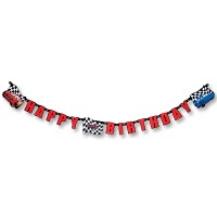 """Cars Party Partykette """"Happy Birthday"""""""