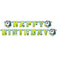 Amscan Partykette Happy B. Fussball