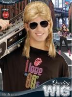 80er-Jahre Perücke blond