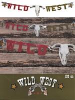 Buchstabengirlande Wild West
