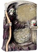 Deko Grabstein mit Totengräber