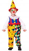 Kinderkostüm Clown 104cm