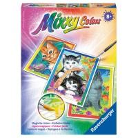 RAVENSBURGER Mixxy Colors Kätzchen 3-er