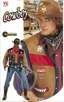 Cowboy-Gilet Buffalo Bill XL