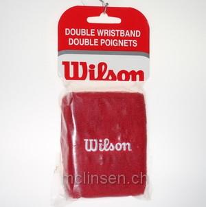 Schweissband Wilson rot Schweissbänder