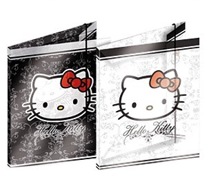 Hello Kitty Mappe Gummizugmappe