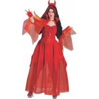 Fasnacht Kostüm Teufel Lucy Gr. 36/38