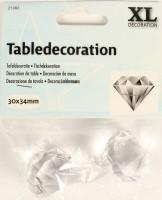 Tischdekoration Diamanten 30mm