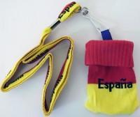 Handysocke und Band Spanien