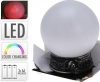 LED Kristallkugel