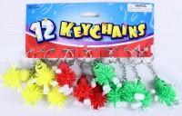 12 Schlüsselanhänger Stachelmännchen
