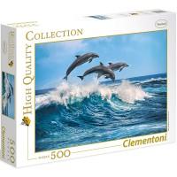 Clementoni Puzzle Delphine 500 teilig
