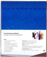 Kontrollbänder Tyvec blau
