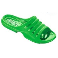 Beco Badesandale Damen neon grün 41