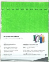 Kontrollbänder Tyvec neongrün
