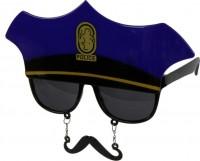 Partybrille Polizei