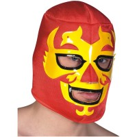 Fasnacht Maske Hawk Warrior