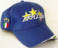 Baseballcaps Italien mit Sternen