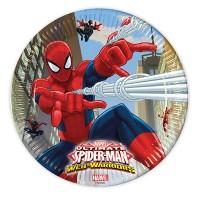 8 Teller Spiderman 23cm