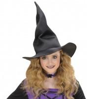 Hexenhut für Kinder schwarz modellierbar