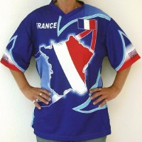 T-Shirt Frankreich XXL