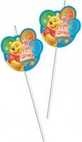 6 Trinkhalme Winnie Pooh