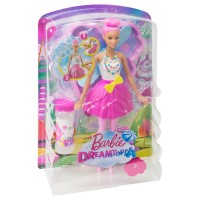 BARBIE Seifenblasen Fee, rosa Haar