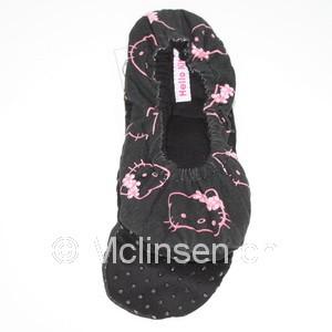 Hello Kitty Geräteschuhe Jersey schwarz Grösse 39-40