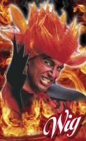Perücke Diablo
