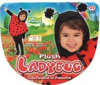 Poncho Marienkäfer für Kinder 2 bis 4 Jahre