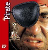 Piratenset mit Augenklappe und Ohrring
