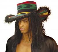 Rastahut Funky (nur Hut, ohne Haare)