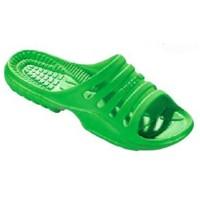 Beco Badesandale Damen neon grün 38