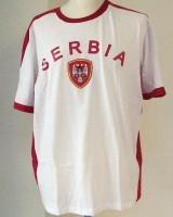 T-Shirt Serbien XL 100% Baumwolle