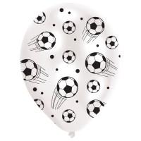 Amscan 6 Ballone 27.5cm Fussball