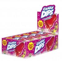 Chupa Chups Crazy Dips Erdbeer 14g x 24