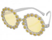 Gelbe Margeriten Hippiebrille