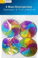 Maxi Regenbogen Rotorspiralen