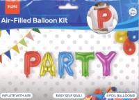 Silberfolienballone PARTY