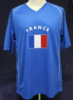 T-Shirt Frankreich Kindergrösse 158cm