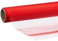 Dekostoff Organza rot